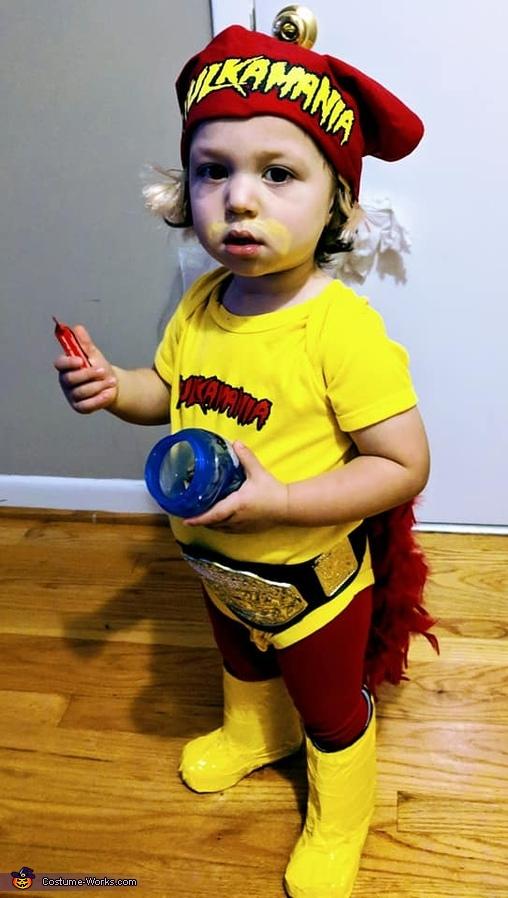 Mini Hulk Hogan Circa 1990 Costume