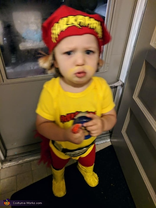 Mini Hulk Hogan Homemade Costume