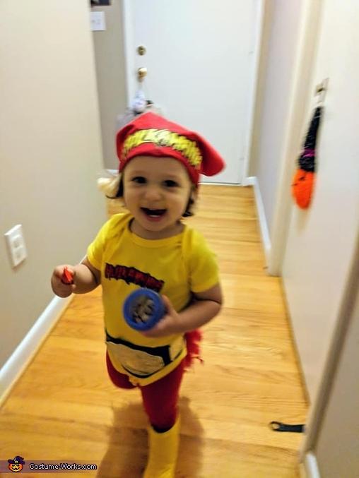 Mini Hulk Hogan Homemade Costume
