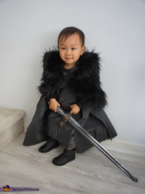 Mini Jon Snow Homemade Costume