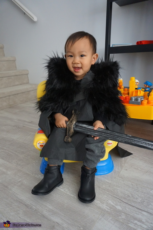 Mini Jon Snow Homemade Costume