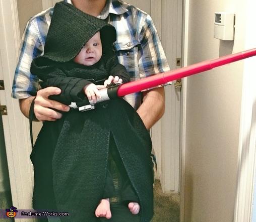 Mini Kylo Ren Homemade Costume