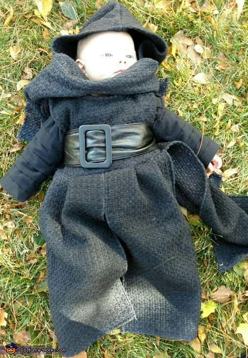 Mini Kylo Ren Homemade Costume