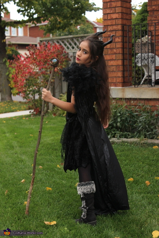 Mini Maleficent Costume