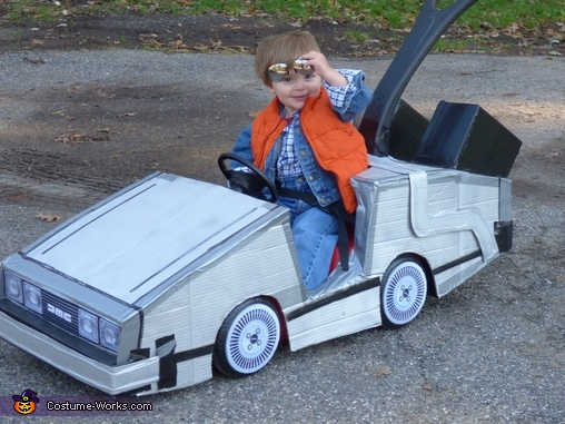 Shades UP!, Mini Marty McFly Costume