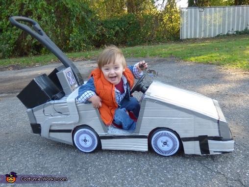 Happy Mini Marty., Mini Marty McFly Costume