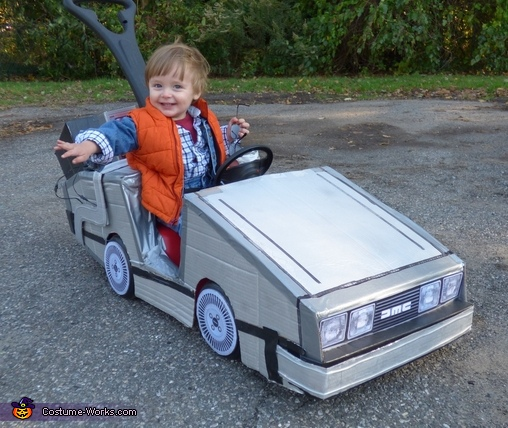 mini marty mcfly baby halloween costume