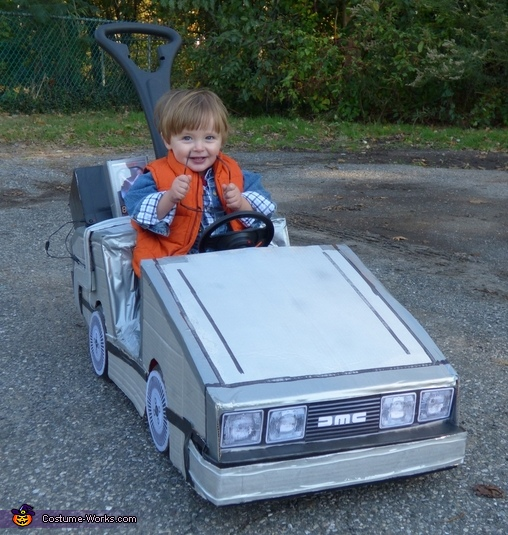 Back from the 80s!, Mini Marty McFly Costume
