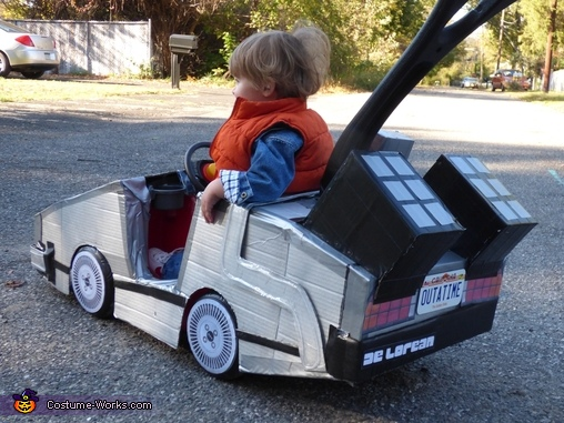 The Back., Mini Marty McFly Costume