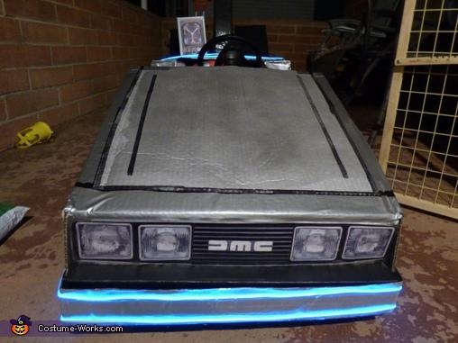 The Glow Lighting., Mini Marty McFly Costume