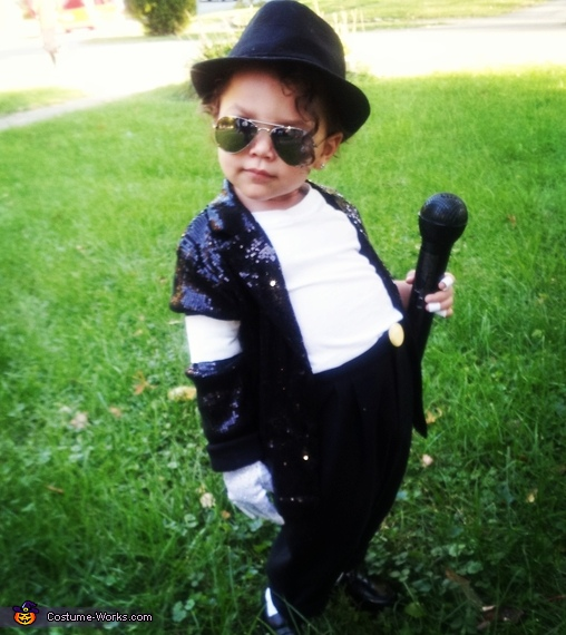 Mini Michael Jackson Baby Costume