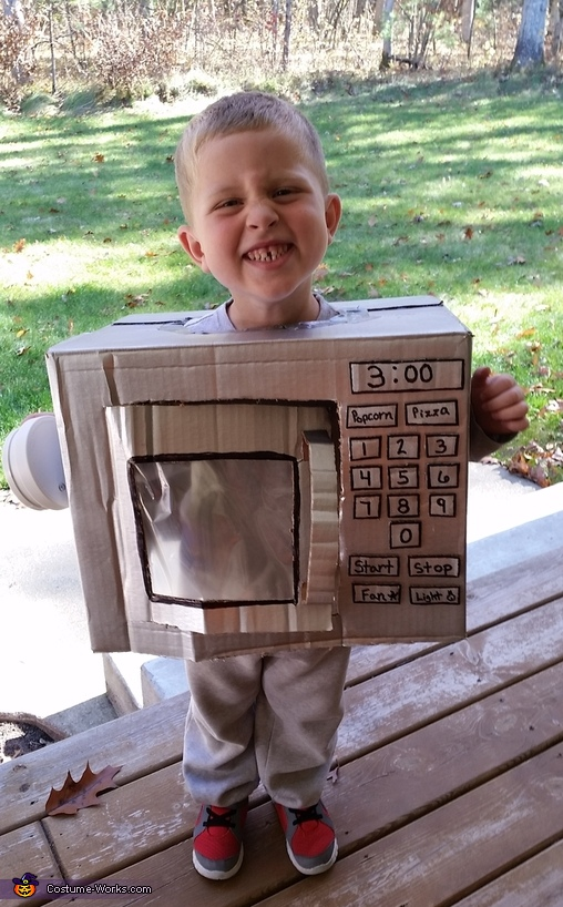 Mini Microwave Costume