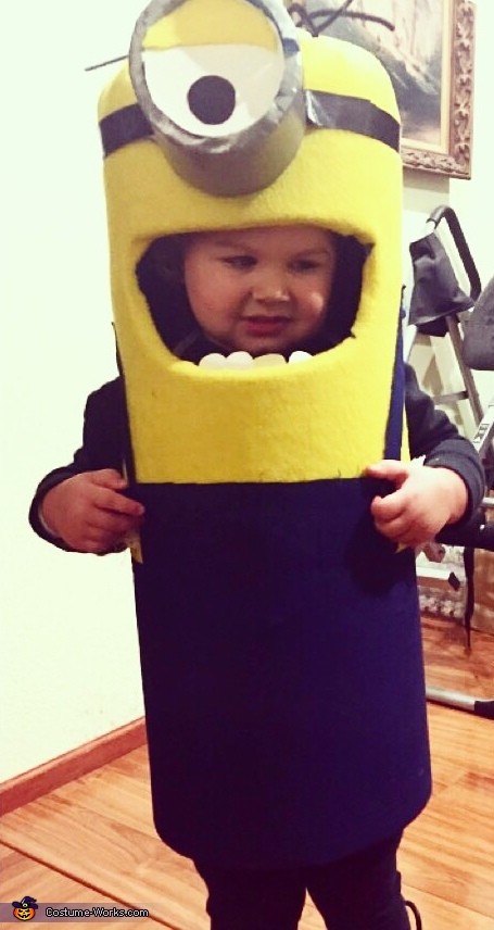 Mini Minion Baby Costume