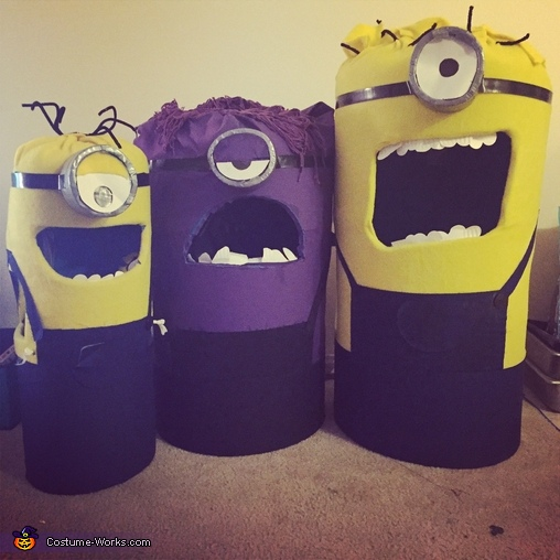 Minion group, Mini Minion Baby Costume