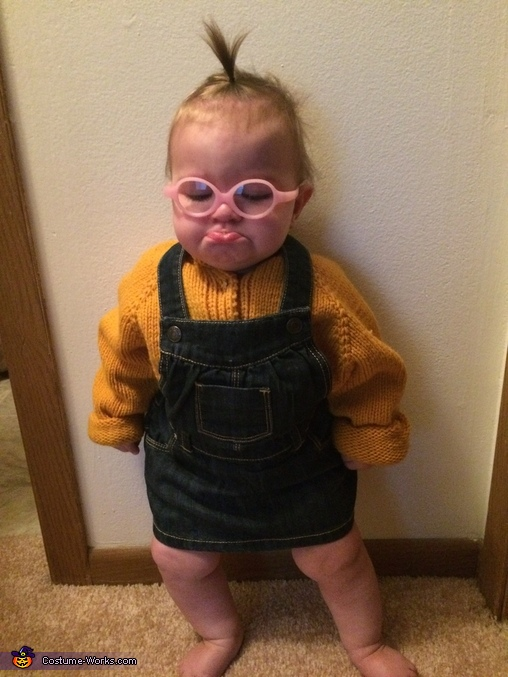 That pout tho, Mini Minion Costume