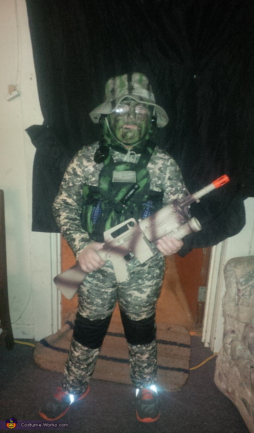 Mini Navy Seal Costume