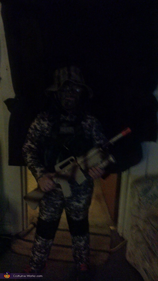 now you dont (without flash, black background), Mini Navy Seal Costume