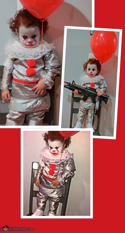 Mini Pennywise Homemade Costume