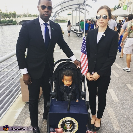 Mini President and Parental Agents Costume