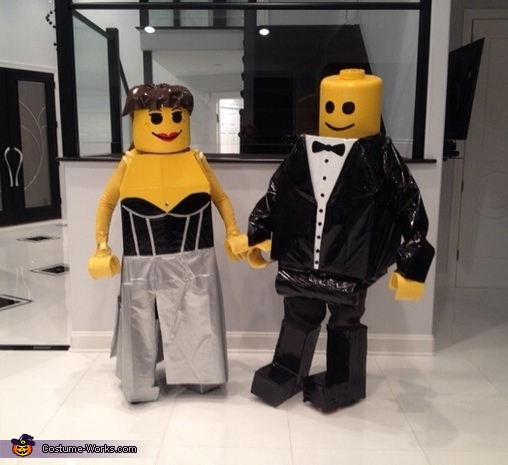 Minifig Black Tie Affair Lego Costume