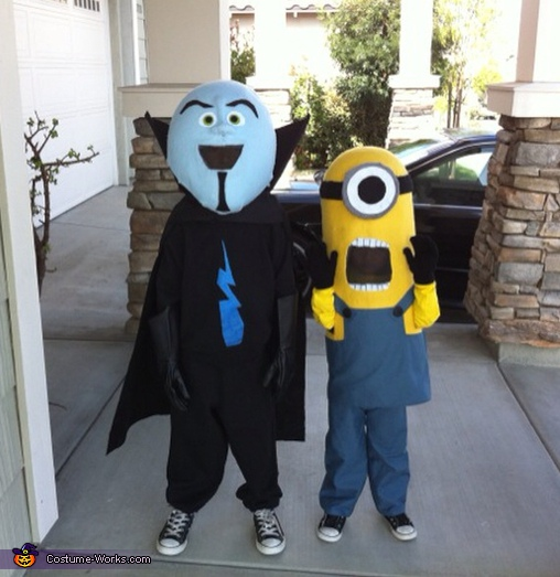 Minion - Homemade costumes for boys