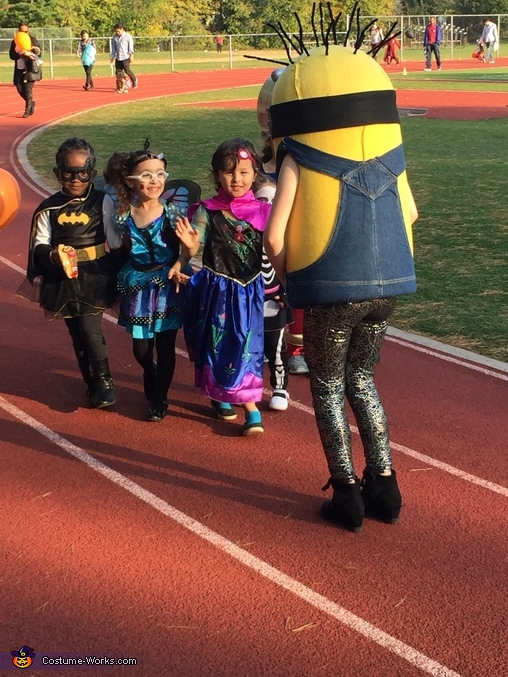 Entertaining children, Minion Costume