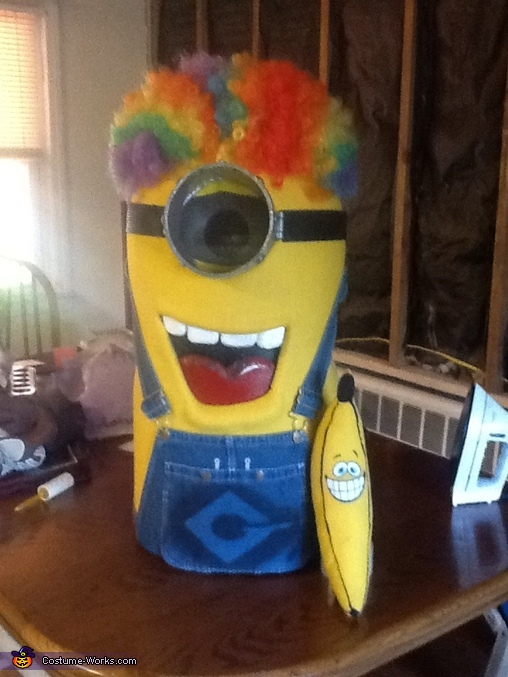 The Minion with his Banana, Despicable Me Minion Costume