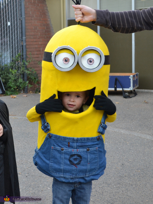 Minion Baby Costume  sc 1 st  Costume Works & DIY Minion Baby Costume