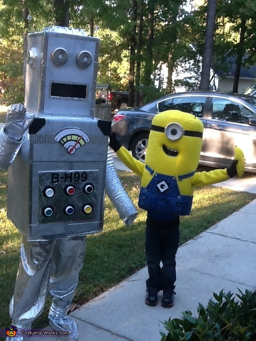 Minion and BH 99, Homemade Minion Costume
