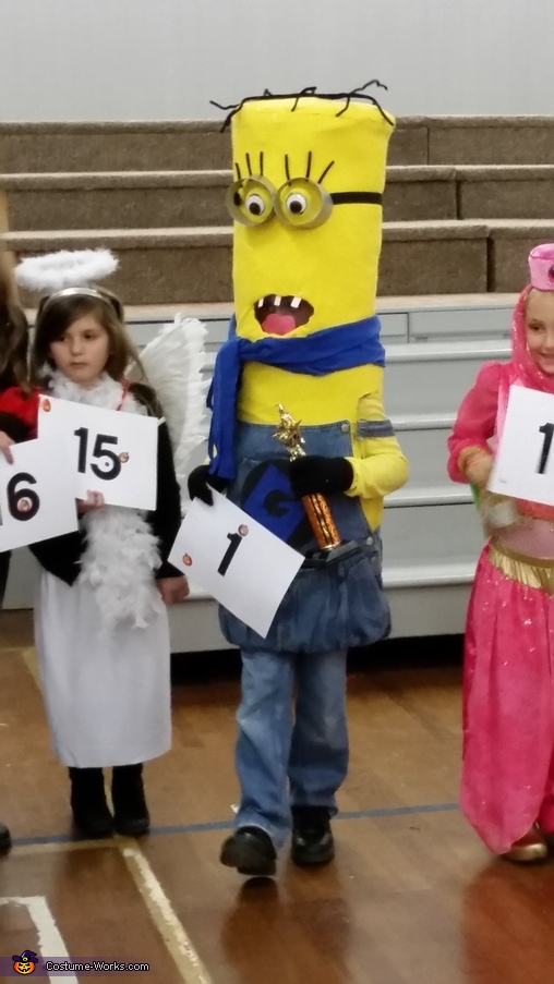 Original Homemade Minion Costume