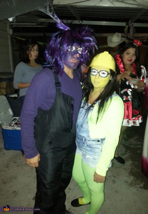 Minion and Evil Minion Couple Costume