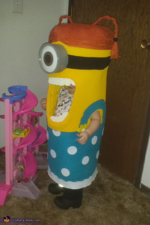 Minion Baby Homemade Costume