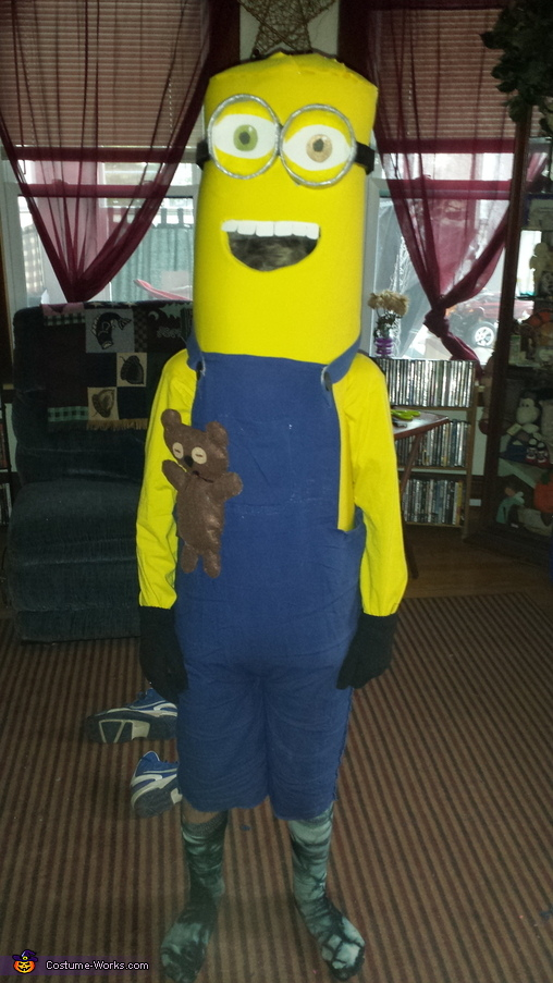 bob the minion with Tim the bear, Minion Bob and Tim Costume