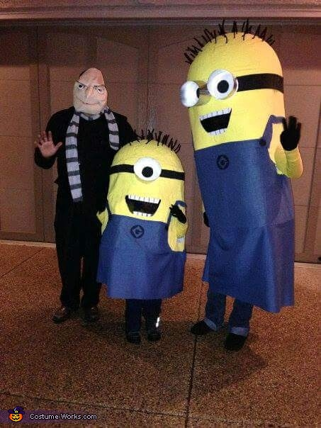 Minion Family Costume