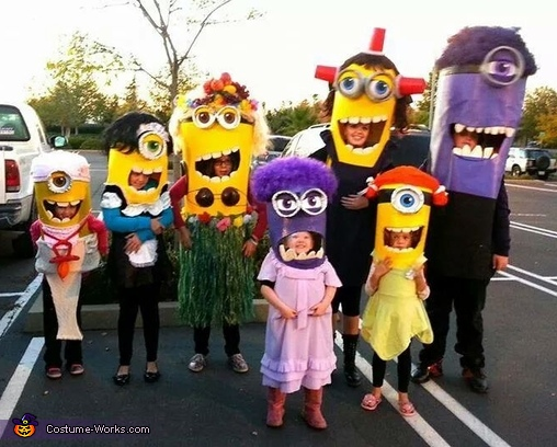 Minion Invasion Group Costume