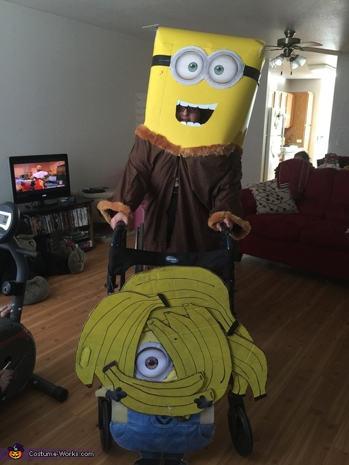 Minion & Bananas Costume