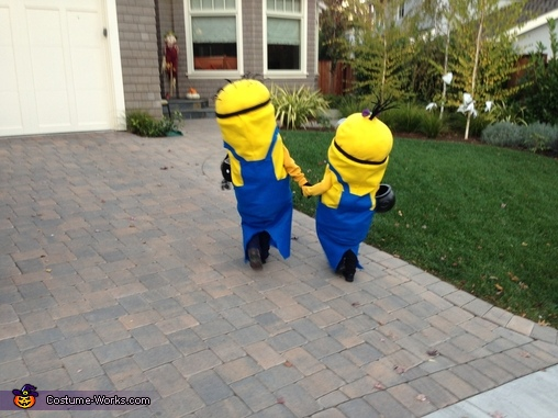 Homemade Minions Costumes