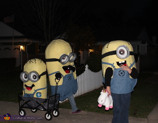 What a long walk home., Minions Costume