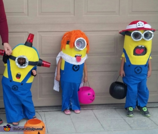 so fun, DIY Minions Costumes