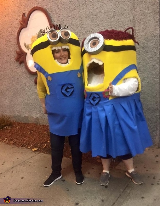 Despicable Me Minions Group Costume