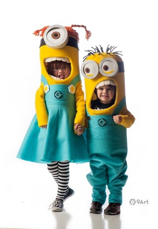 Minions Costumes  sc 1 st  Costume Works & DIY Minions Costumes for Kids