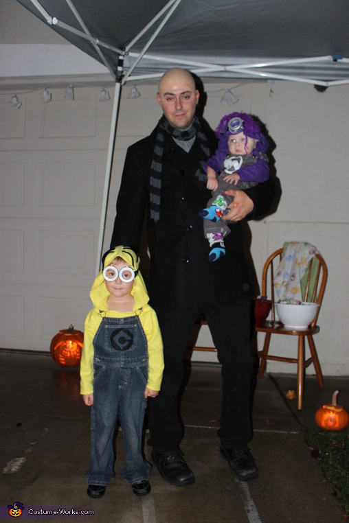 Full body gru / minions, Minions Family Costume
