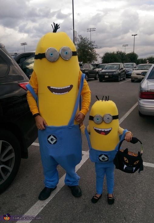 Minions Family Homemade Costume