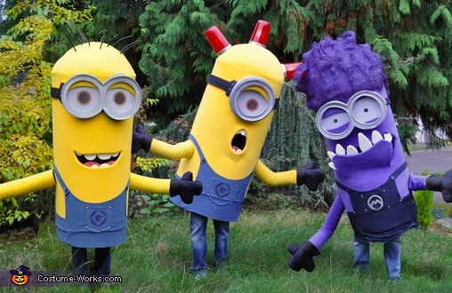 Minions from Despicable Me Group Costume