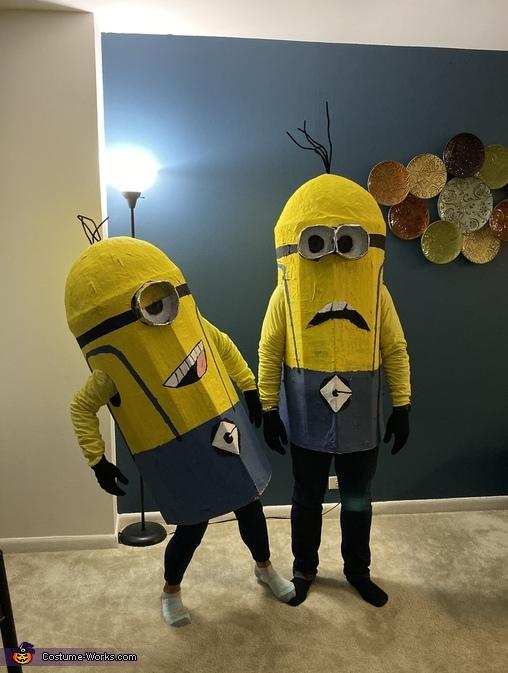 Minions Stuart and Dave Homemade Costume
