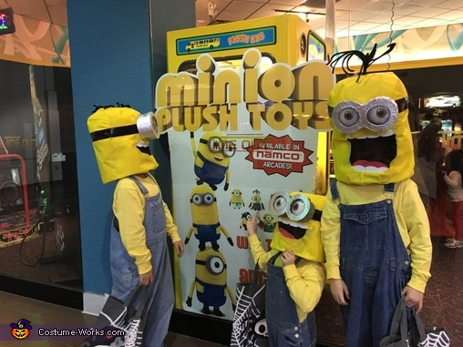 Minions...hey, there we are again!, Minions: Stuart, Kevin & Bob Costume