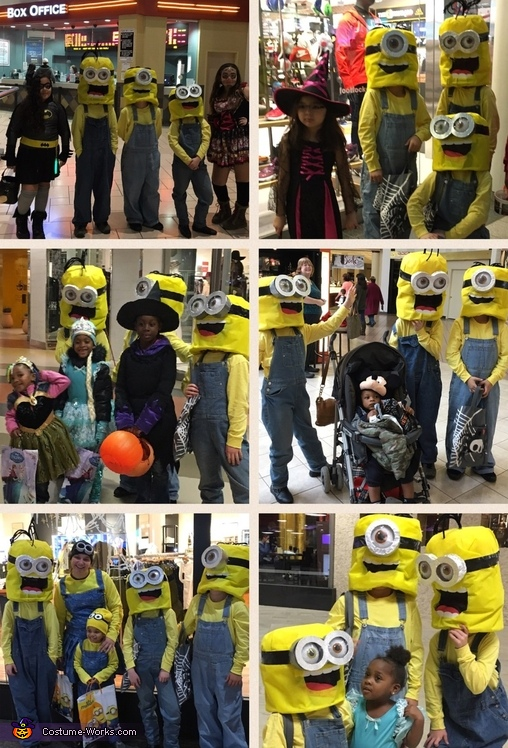 Just a few shots with some of our fans!!!, Minions: Stuart, Kevin & Bob Costume