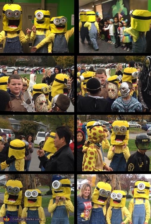 We love a parade...Minions style!, Minions: Stuart, Kevin & Bob Costume