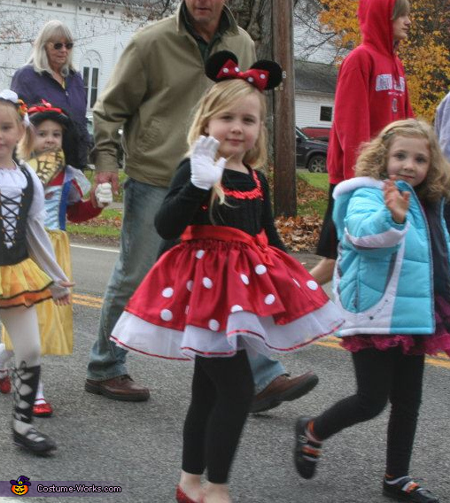 Minnie Mouse - Homemade costumes for girls