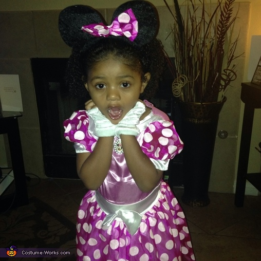 Minnie Mouse Yaya, Cute Minnie Mouse Costume